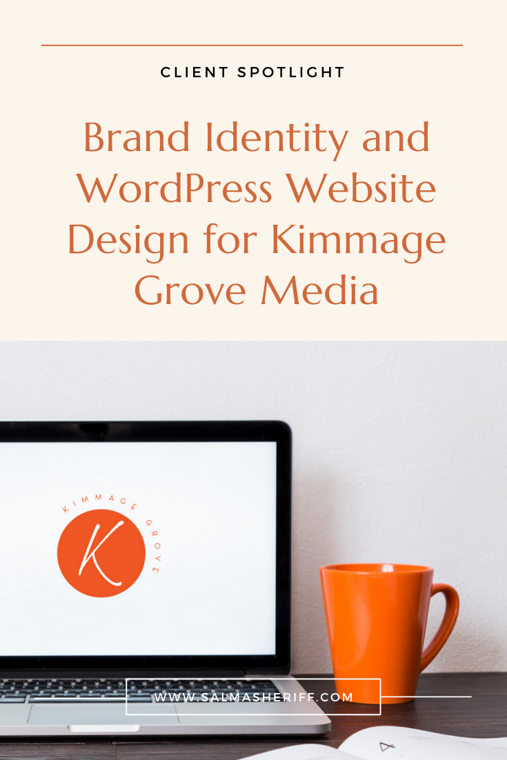 Brand Identity and WordPress Website Design for Kimmage Grove Media