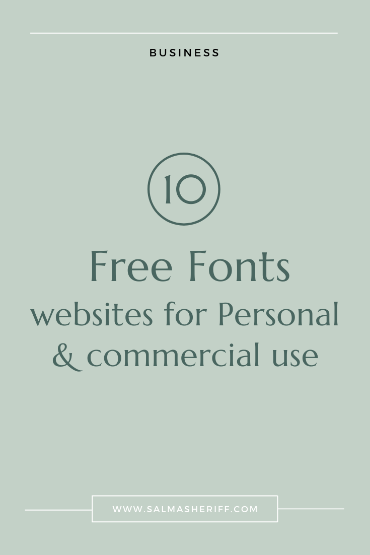 10 Free Fonts Websites