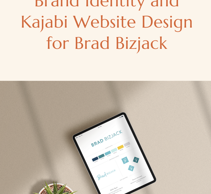 Brand Identity and Kajabi Website Design for Brad Bizjack
