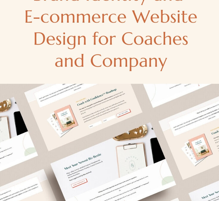 Brand Identity Design and E-commerce Website Design for Coaches and Company