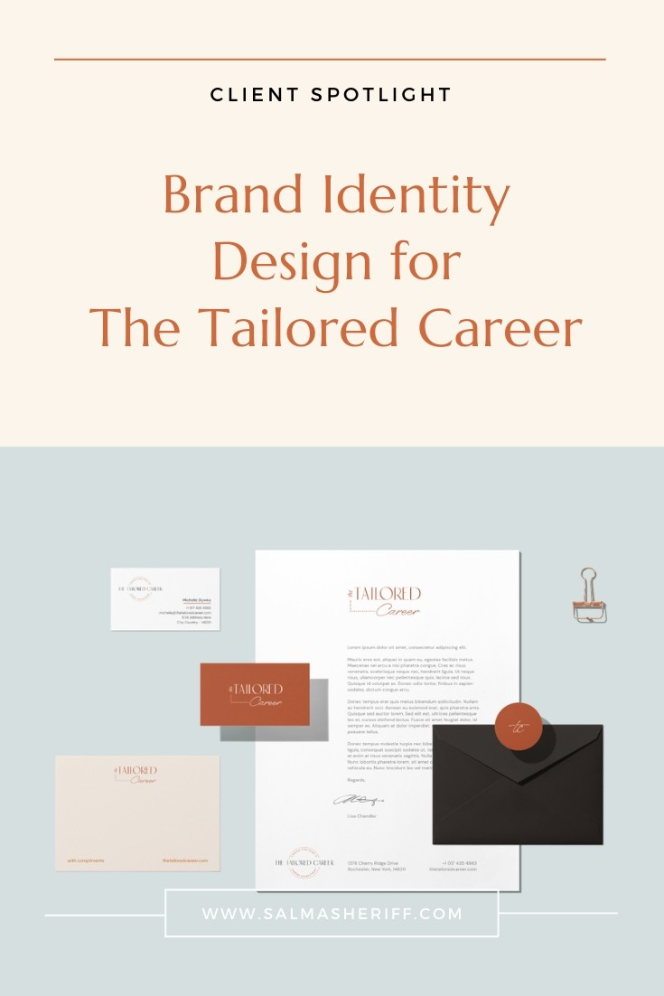 Brand Identity Design for The Tailored Career