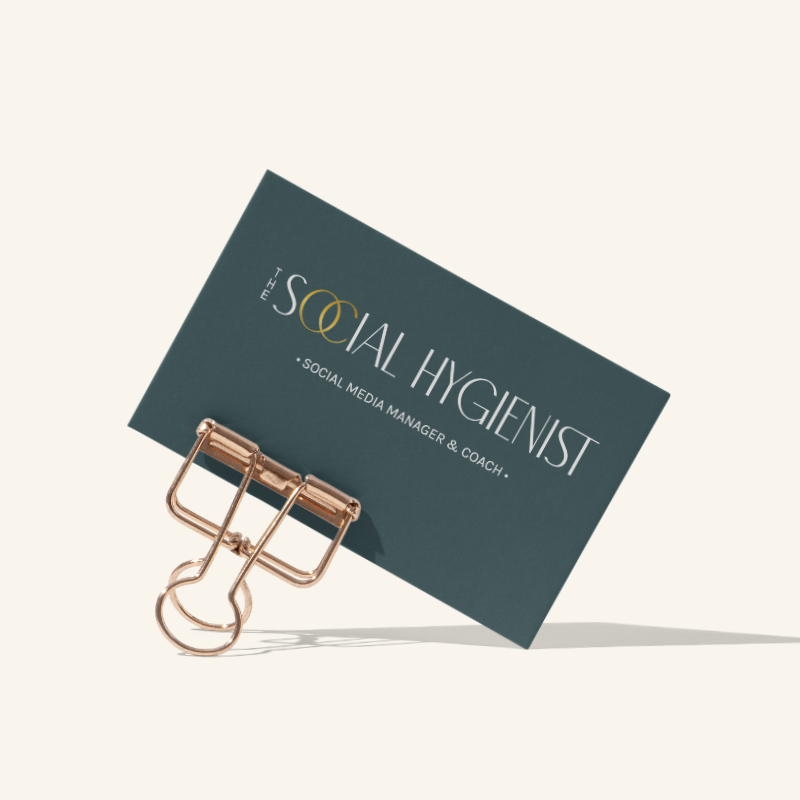 Brand Identity Design for The Social Hygienist