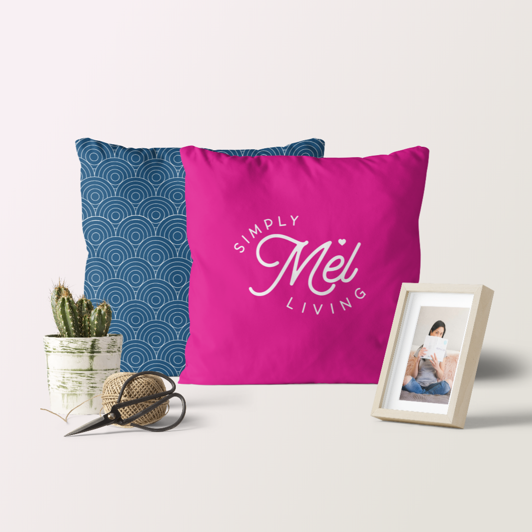 Logo Design and Website Design-in-a-Day for Simply Mel Living