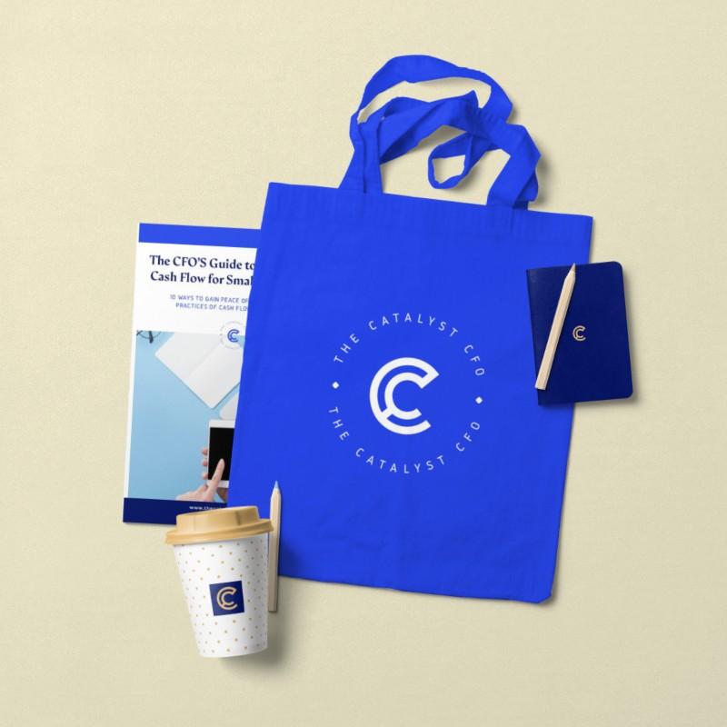 Brand Identity Design for The Catalyst CFO